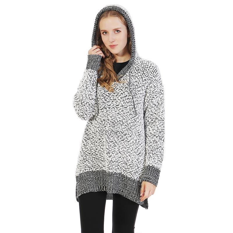 MXDSS330 Miracle Super Soft Popcorn Knit  Hoodie Pullover