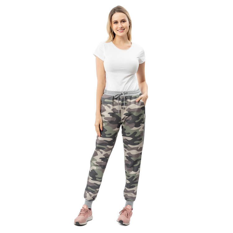 High Quality Casual Women Leggings Camouflage Pants MXDSS792