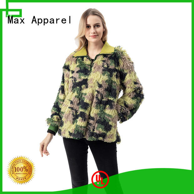 Max Apparel inexpensive fleece hoodie bulk production for girl