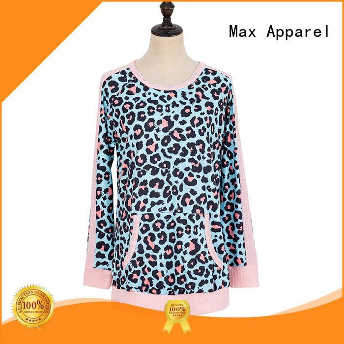 Max Apparel quality long sleeve tops free design for girl