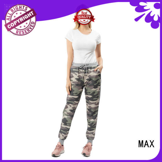 Max Apparel hot-sale womens embroidered tops free design for outdoor