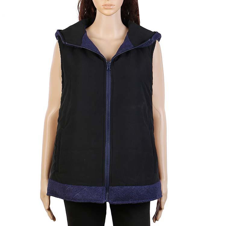 Wholesale Women Hoodie Reversible Vest MXDSS41