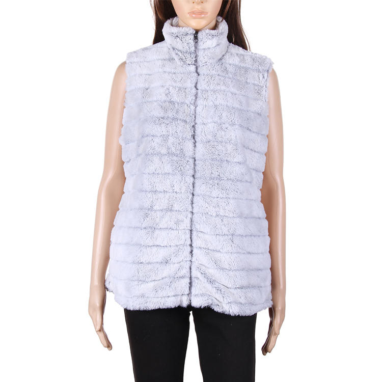 Yiwu Wholesale Women Fashion Faux Fur Vest MXDSS633