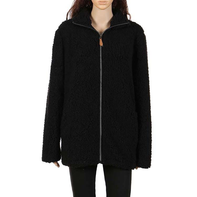 Hot Selling Full Zipper Women Sherpa Fleece Jacket MXDSS373
