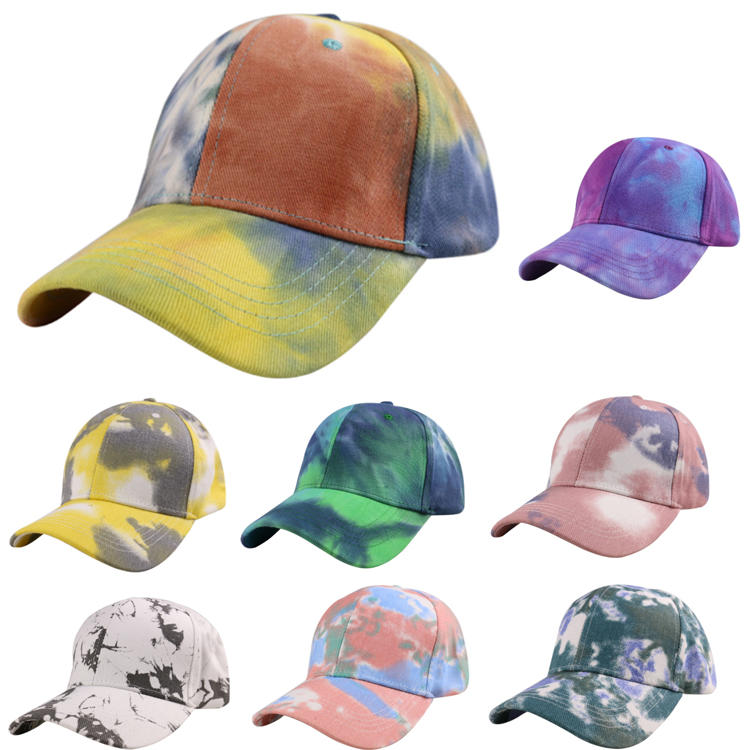High Quality Summer Tie Dye Baseball Hats MXDSH002