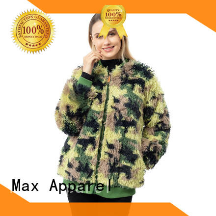 Max Apparel woman sherpa coat free design for shopping