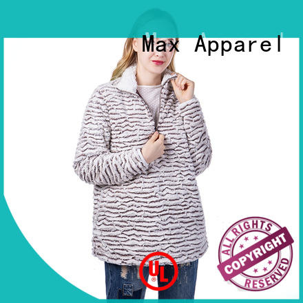 Max Apparel womens fleece quarter zip pullover check now for shopping