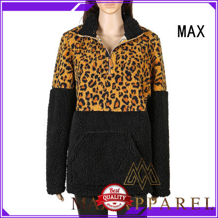 Max Apparel fashion quilted pullover for wholesale for winter