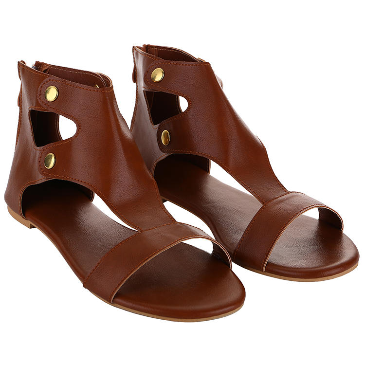 MXDSD025 Latest Design Flat Sandals For Women And Ladies