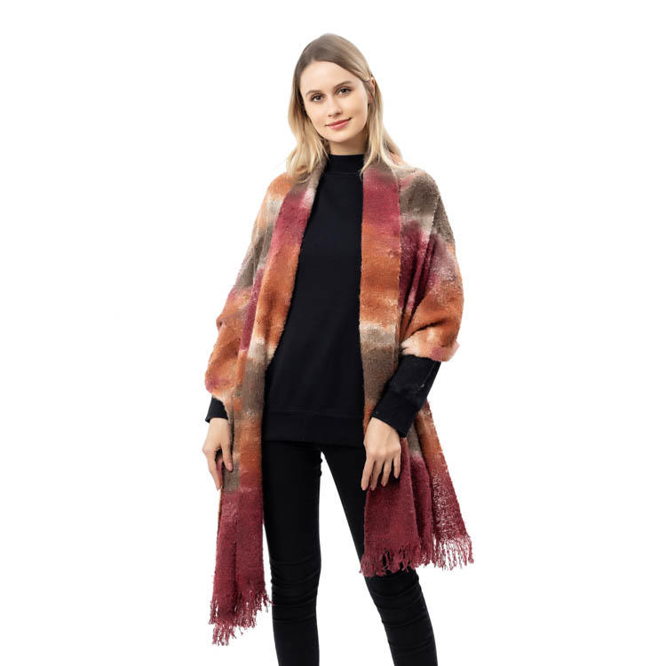 2020 Factory New Arrival Tie Dye Women Scarf Cashmere Scarf MXDSS579