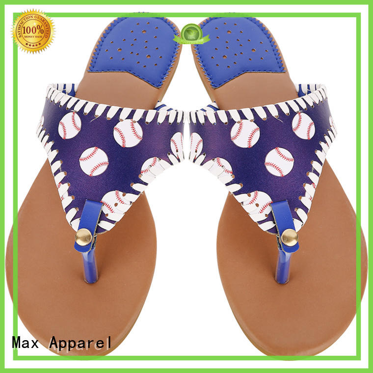 Max Apparel flat leather sandals for girl