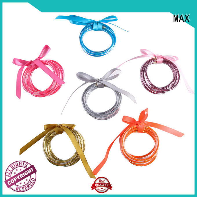 Max Apparel low cost keychain bracelet free design for girls