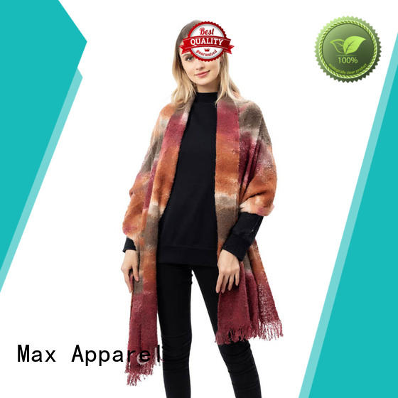Max Apparel comfortable womens plaid scarf free quote for cold days