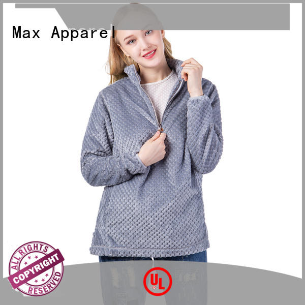 Max Apparel 1/4 zip pullover order now for woman