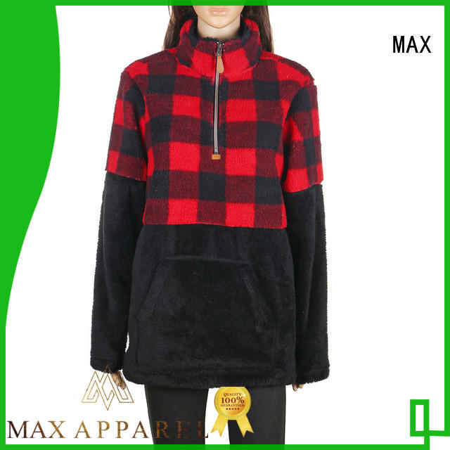 Max Apparel fleece pullover buy now for shopping