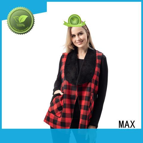 Max Apparel faux vest womens bulk production for beach