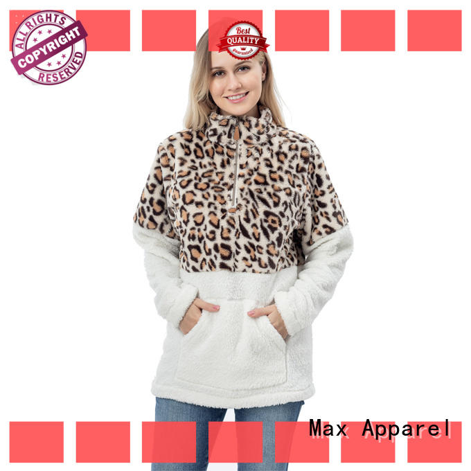 Max Apparel high-quality sherpa fleece pullover check now for shopping