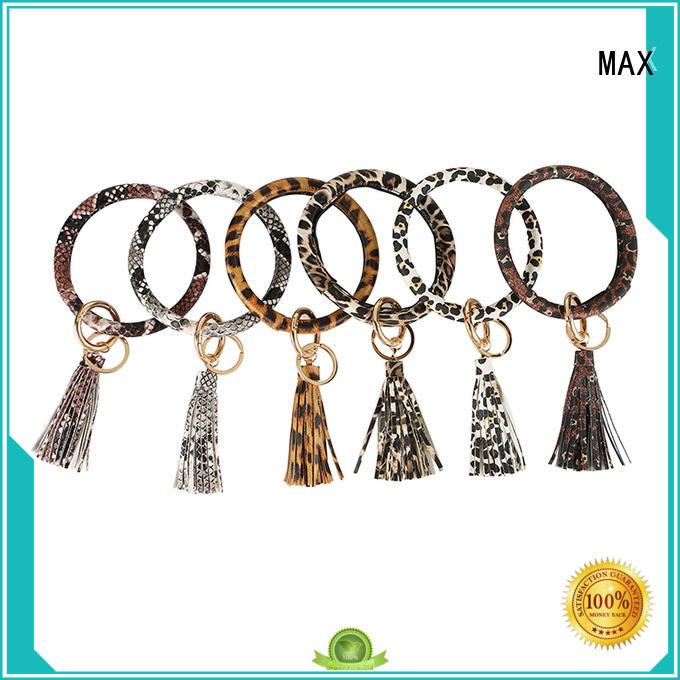 Max Apparel popular keychain bracelet free design for woman