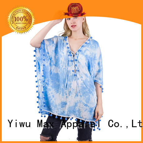 Max Apparel stylish womens poncho free design for girl