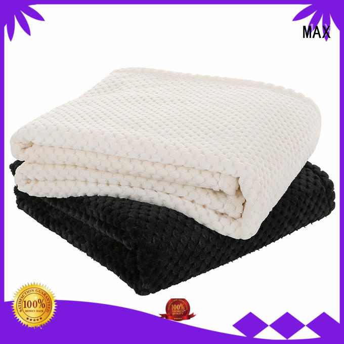 Max Apparel fashion double sided fleece blanket buy now for woman