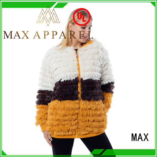 Max Apparel cozy fleece jacket for wholesale for girl